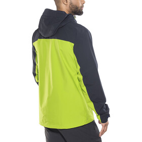 Salomon La Cote 2L Chaqueta Hombre, night sky/greenery